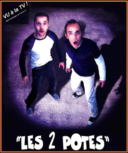 L'affiche du spectacle Les Deux Potes