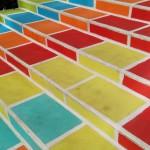 L'escalier Prunelle donne des couleurs aux pentes de la Croix-Rousse