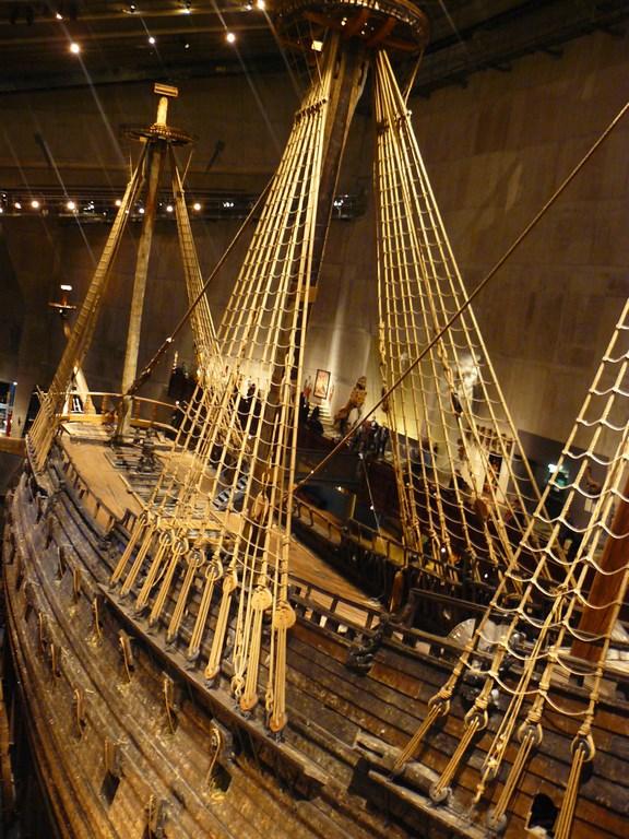 Le Vasa est quasi intact.