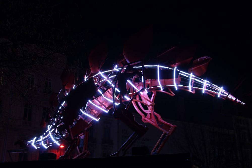 Fête des Lumières 2016 - Jurassic Spark