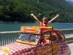 Tour de France : j'ai grimpé l'Alpe d'Huez en Deuche Cochonou