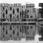 Lyon Confluence : safari photos en noir et blanc